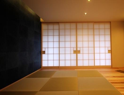 009 あさだ建築・西澤邸アネックス・竣工写真・和室-1・ のコピー